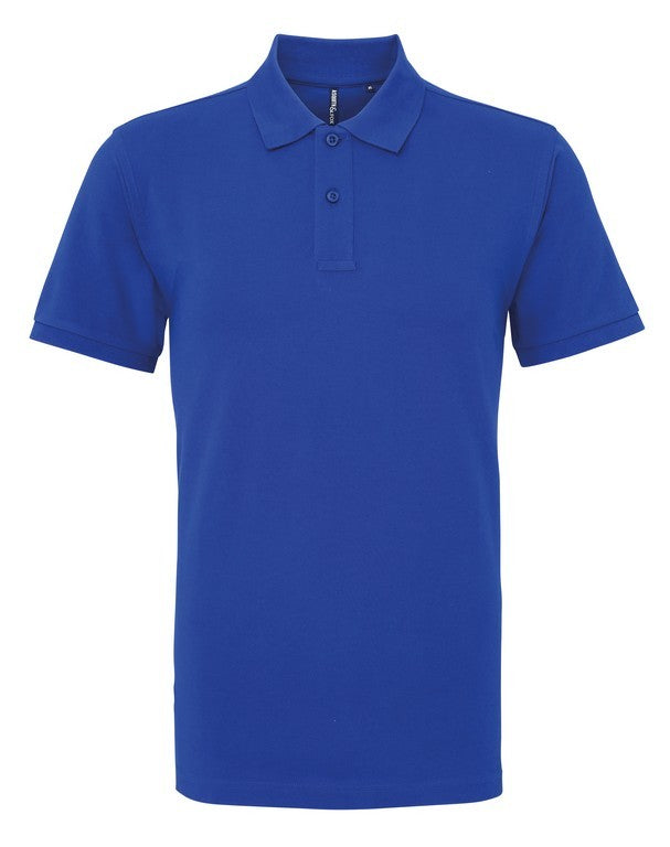 Unisex Cotton Polo Shirt (P010 (AQ010)) - Royal