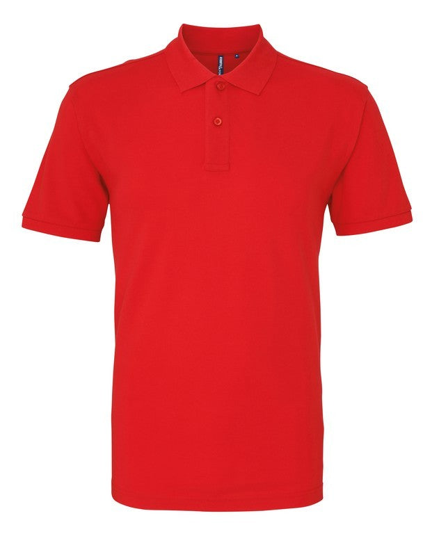 Unisex Cotton Polo Shirt (P010 (AQ010)) - Red