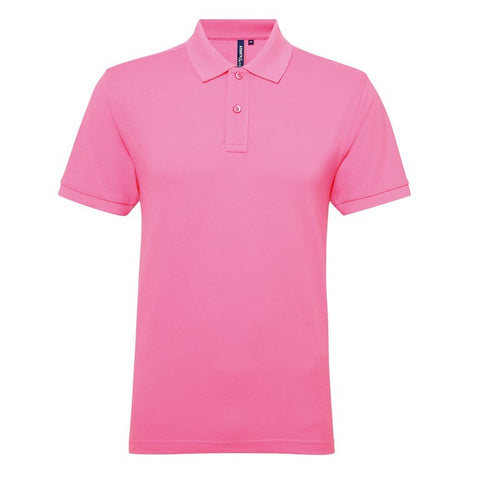 Men's Poly/Cotton Polo Shirt (P015) - Neon Pink