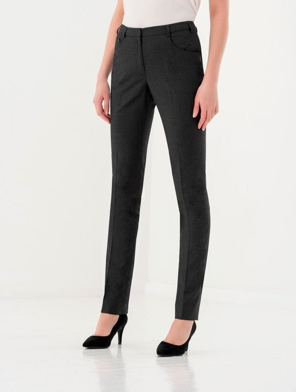 Ladies Chiswick Slim Fit Trouser (TF414) - Black