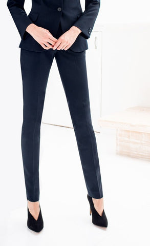 Ladies Chiswick Slim Fit Trouser (TF414) - Navy