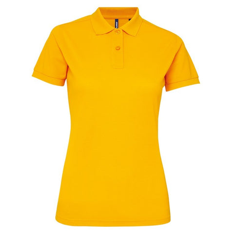 Ladies Poly/Cotton Polo Shirt (PF025) - Sunflower