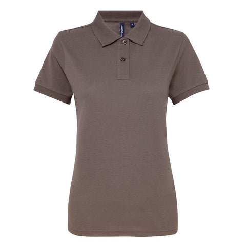Ladies Poly/Cotton Polo Shirt (PF025) - Slate