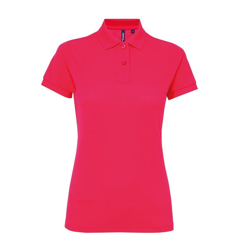 Ladies Poly/Cotton Polo Shirt (PF025) - Hot Pink