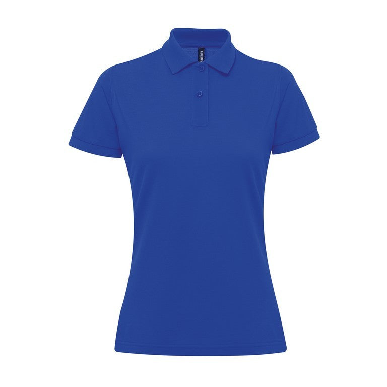 Ladies Poly/Cotton Polo Shirt (PF025) - Navy