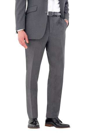 Men's Putney Easy Waist Trouser (TM416) - Charcoal
