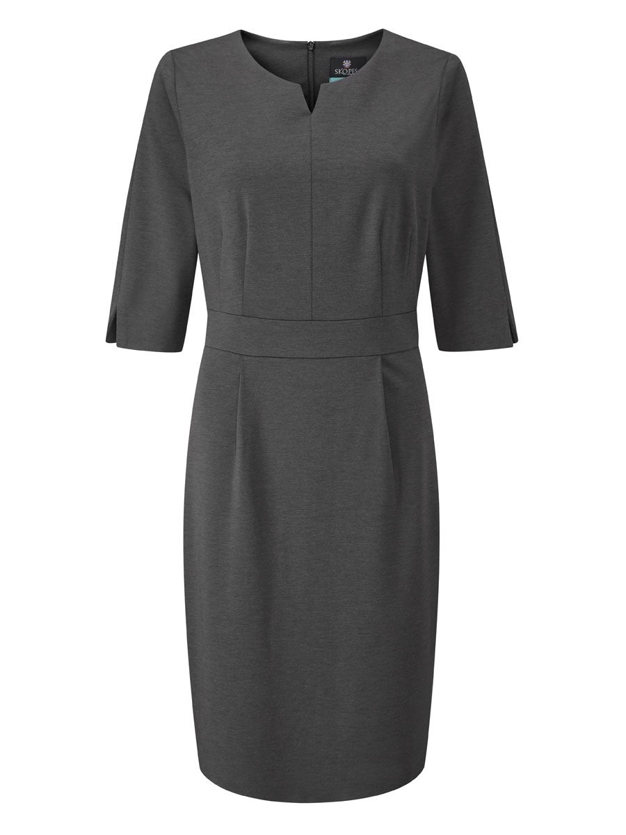 Ladies Lewis Contourflex Half Sleeve Dress (D301)