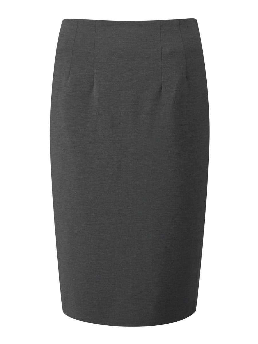 Ladies Radcliffe Straight Skirt (SK305) - Charcoal