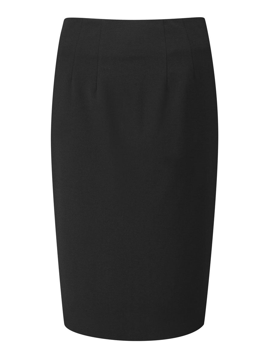 Ladies Radcliffe Straight Skirt (SK305) - Black