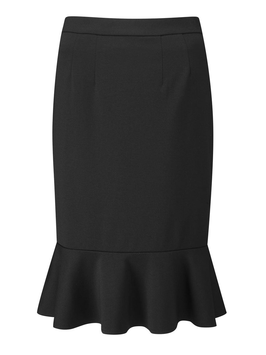 Ladies Adlington Flutted Hem Skirt (SK306)