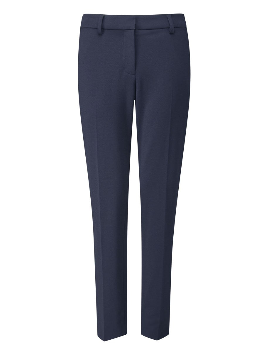Ladies Holmes Slim Leg Trouser (TF303) - Navy