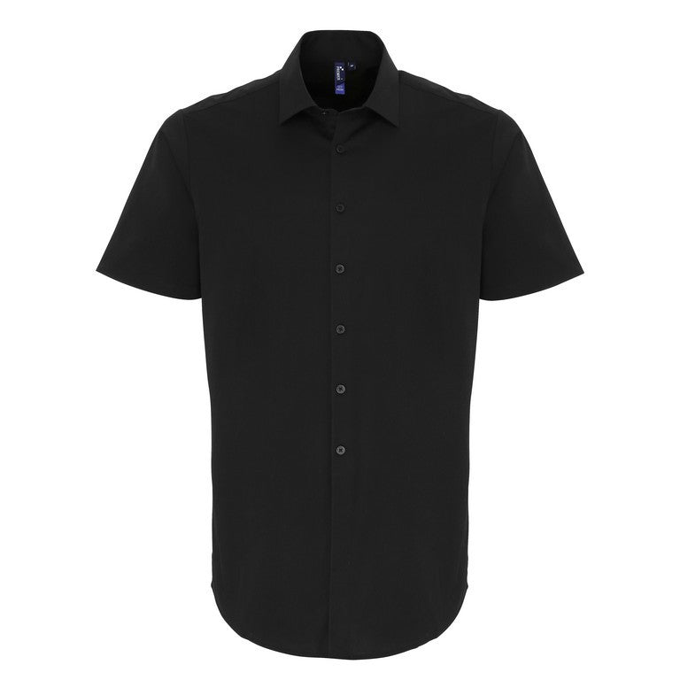 Stretch Short Sleeve Poplin Shirt (S246)