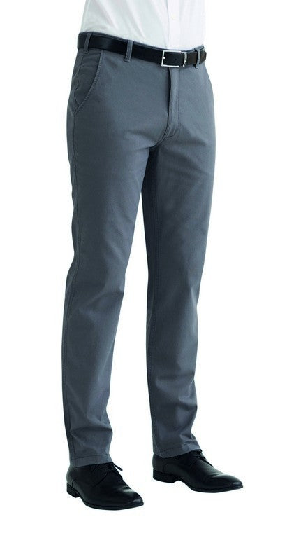 Men's Miami Slim Fit Stretch Chino Trouser (TM8807) - Black