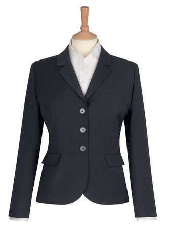 Susa 3 Button Jacket (JF140) - Navy