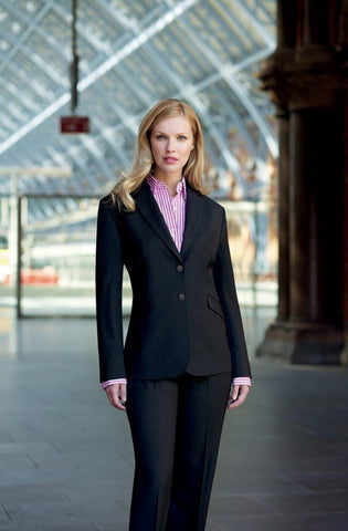 Opera 2 Button Jacket (JF142) - Black