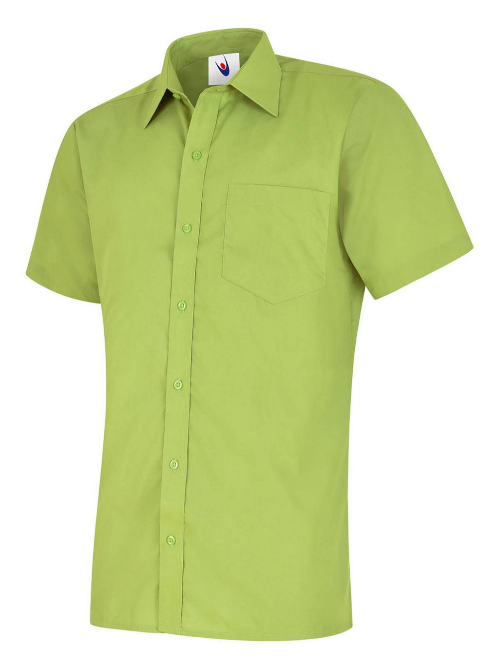 S710 Men's Short Sleeve Poplin Shirt (UC710)