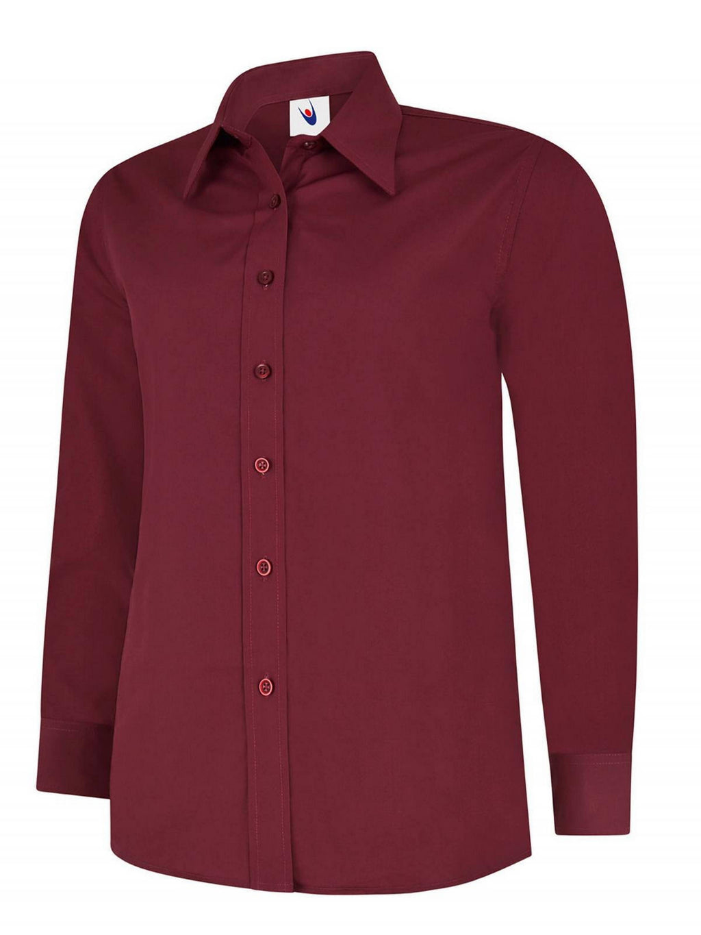 Ladies Long Sleeve Poplin Blouse (B711 (UC711))