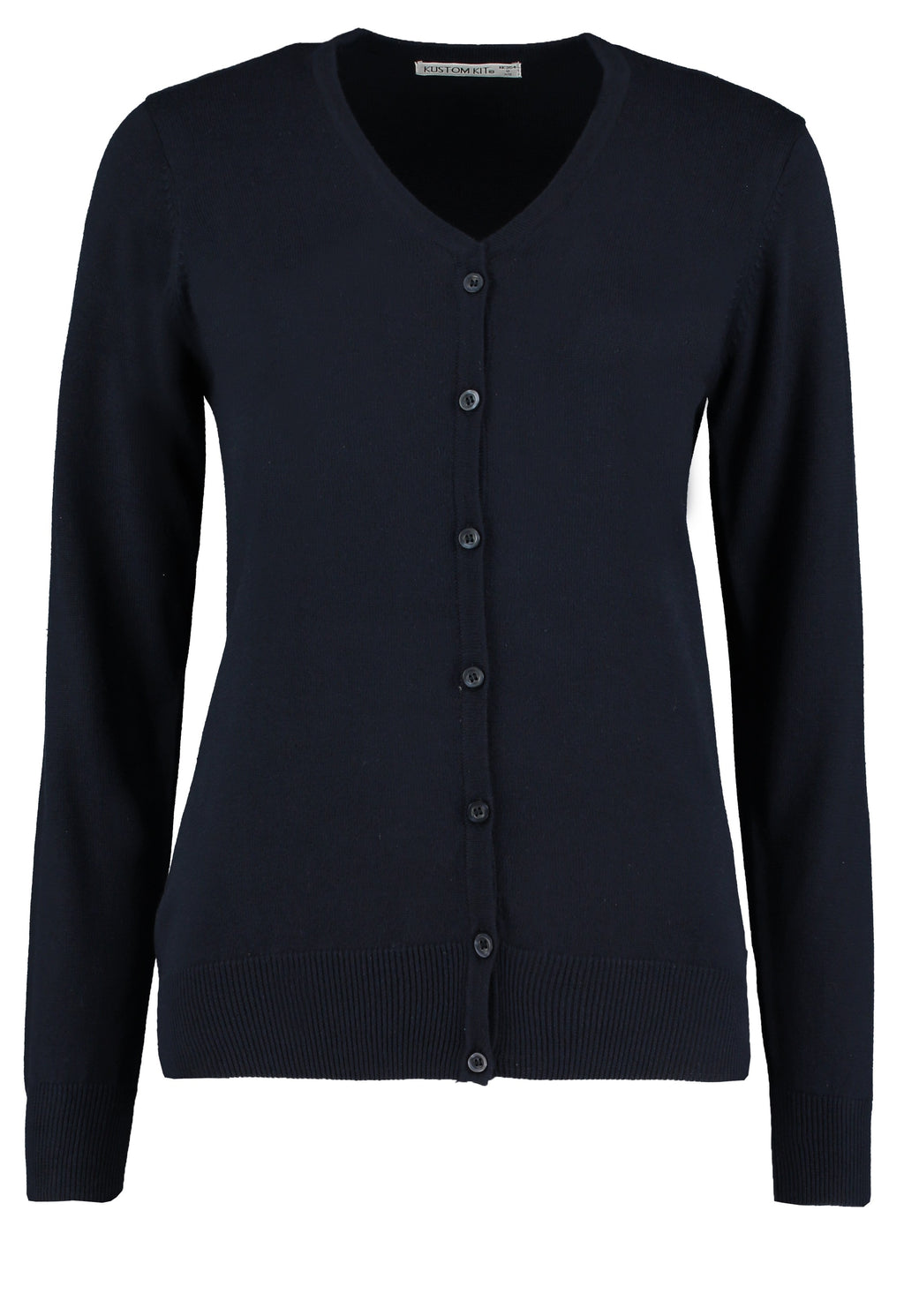 Ladies V-Neck Cardigan (C217 (PR697))