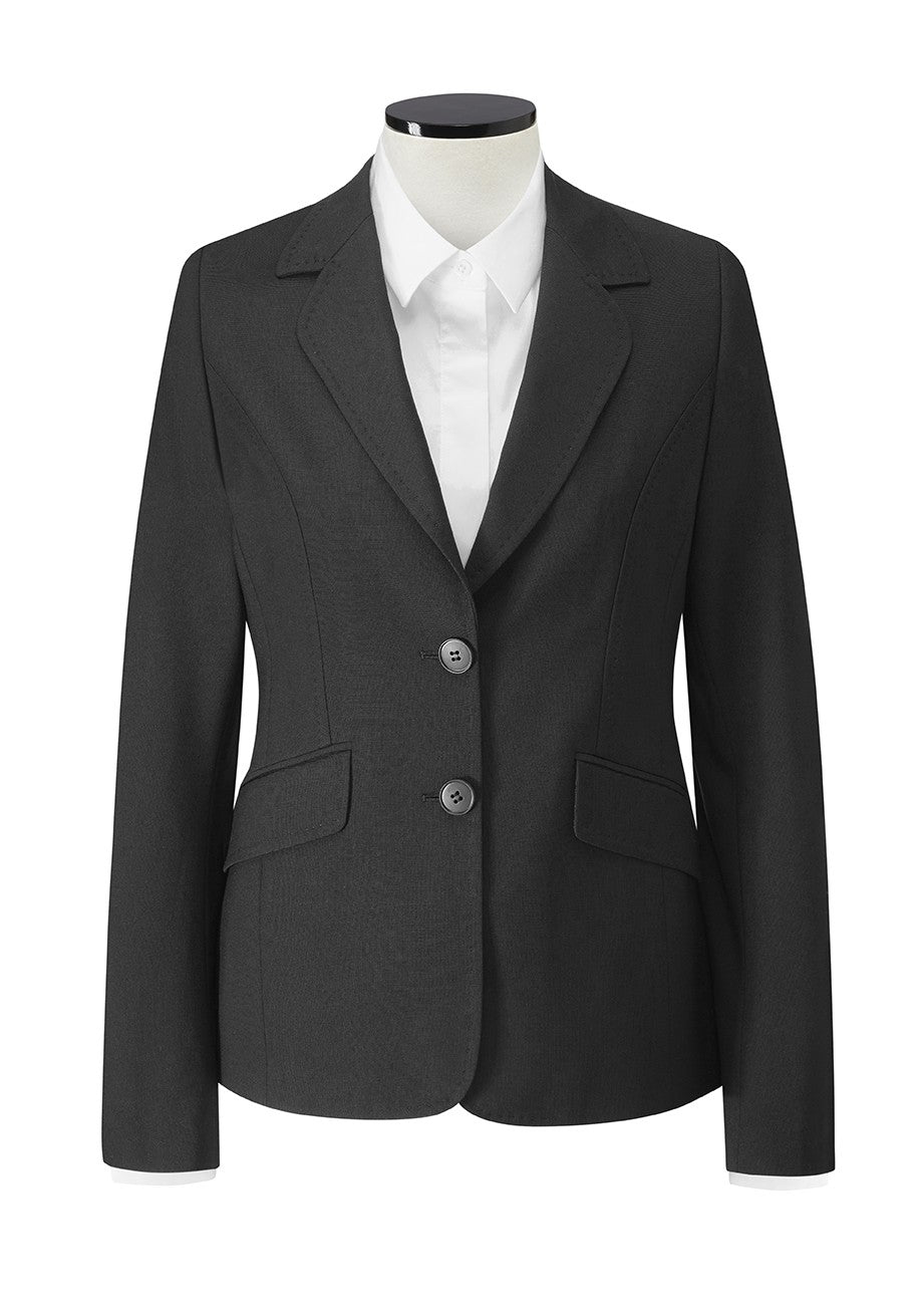 Bloomsbury 2 Button Jacket (JF401) - Black