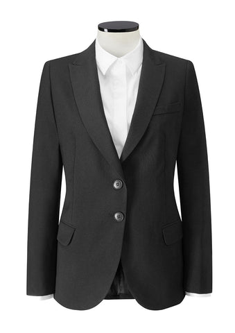 Finchley 2 Button Jacket (JF402) - Black