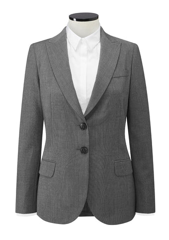 Finchley 2 Button Jacket (JF402) - Light Grey