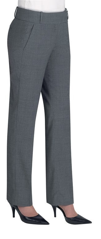 Genoa Slim Leg Trouser (TF145) - Light Grey
