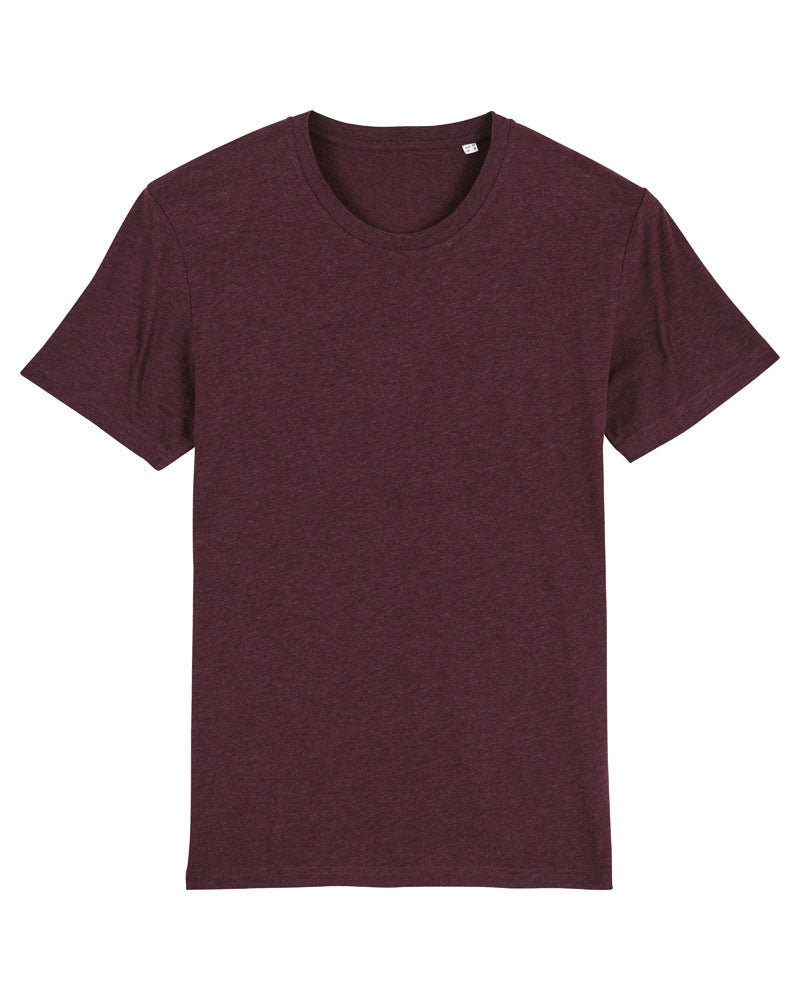 Unisex Iconic SX001 T-Shirt (TSX01) - Heather Grape Red