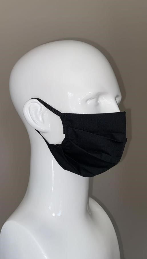 Face Mask, Pleated Style, 3 Ply, Re-Usable (PK of 10) (FM02)