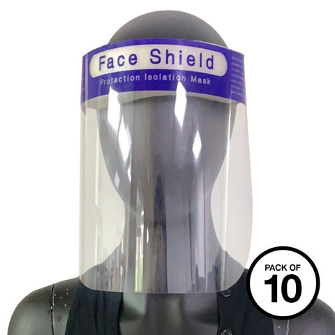 Face Splash Shield/Visor (PK of 10) (RV08X)