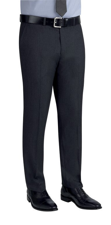 Cassino Slim Fit Trouser (TM147) - Charcoal