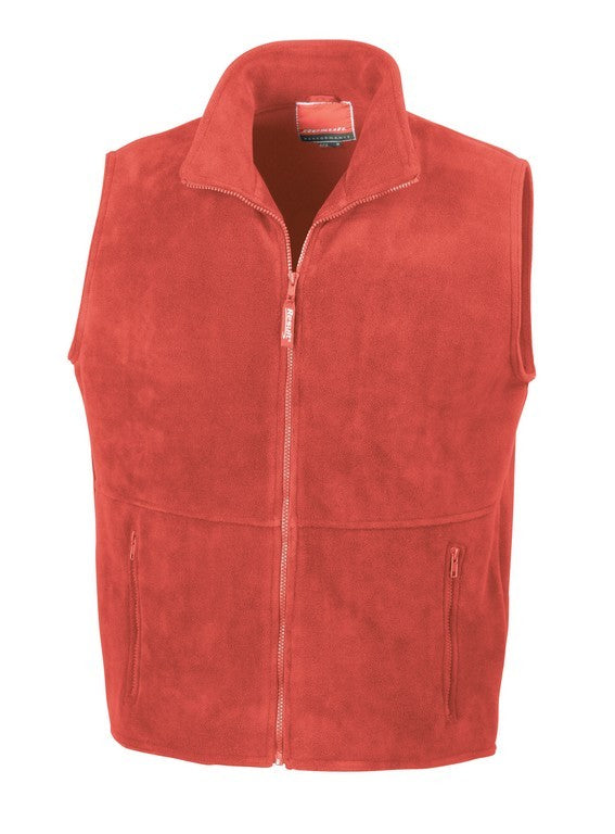 PolarTherm Bodywarmer (RE37A) - Red