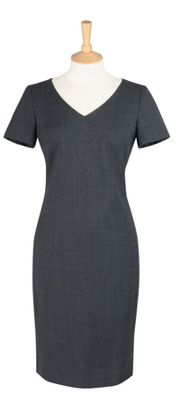 D504 Corinthian V Neck Dress