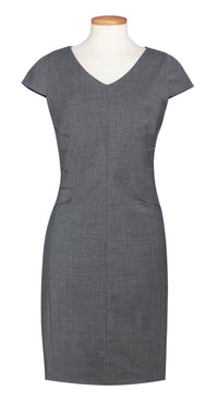 D144 Capped Sleeve Dress