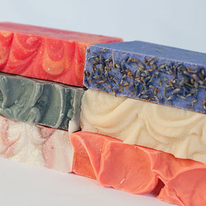 Choose 6 handmade soaps