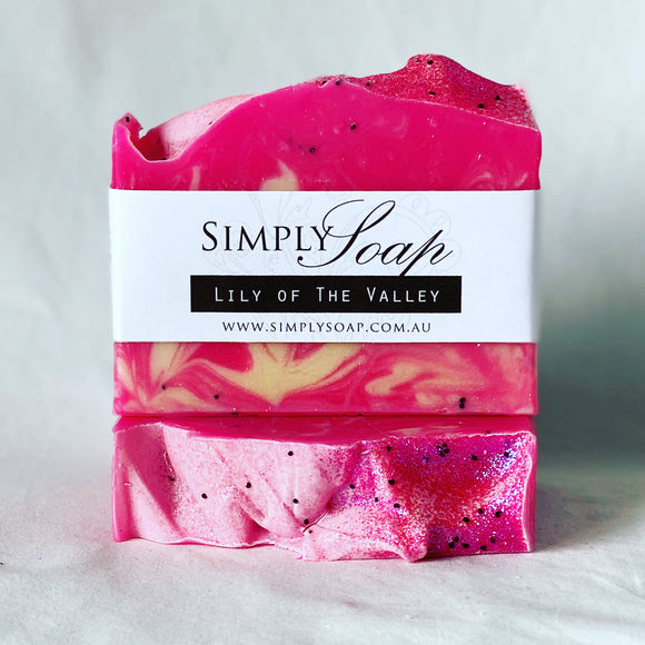 Lily of the Valley handmade soap