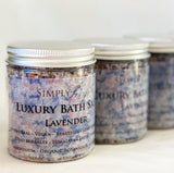 Luxury Botanical Bath Salts
