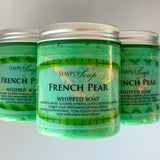 Whipped French Pear