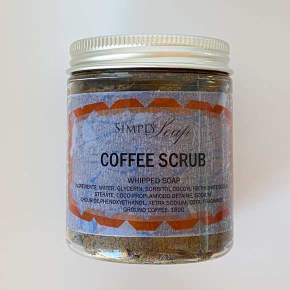 Whipped Coffee Scrub