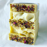 Lemon Goats Milk handmade soap