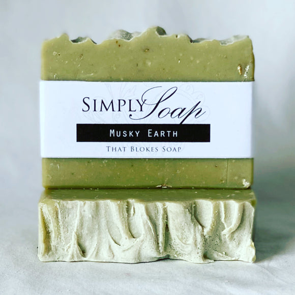 Musky Earth handmade soap