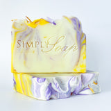 Lavender Lemonade handmade soap