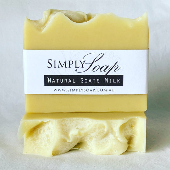 Natural Goats Milk handmade soap