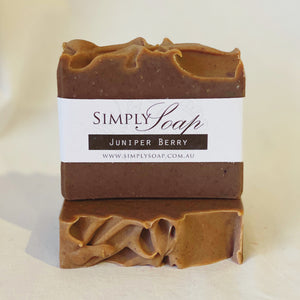 Juniper Berry handmade soap