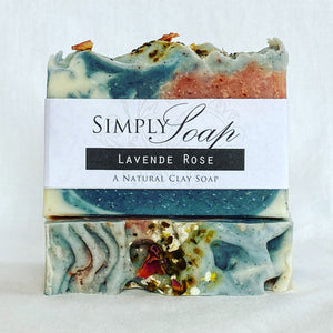 Lavender Rose handmade soap