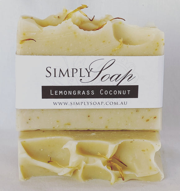 Lemongrass & Coconut handmade soap