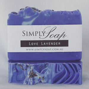 Love Lavender handmade soap