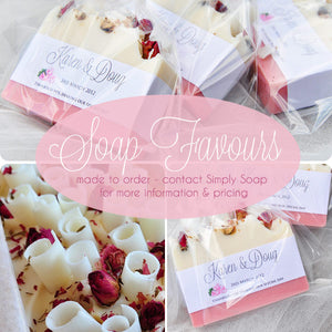 Custom Soap Favours