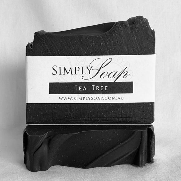 Tea Tree & Charcoal handmade soap