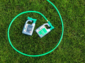 Easy to apply Lawnbright lawn care products