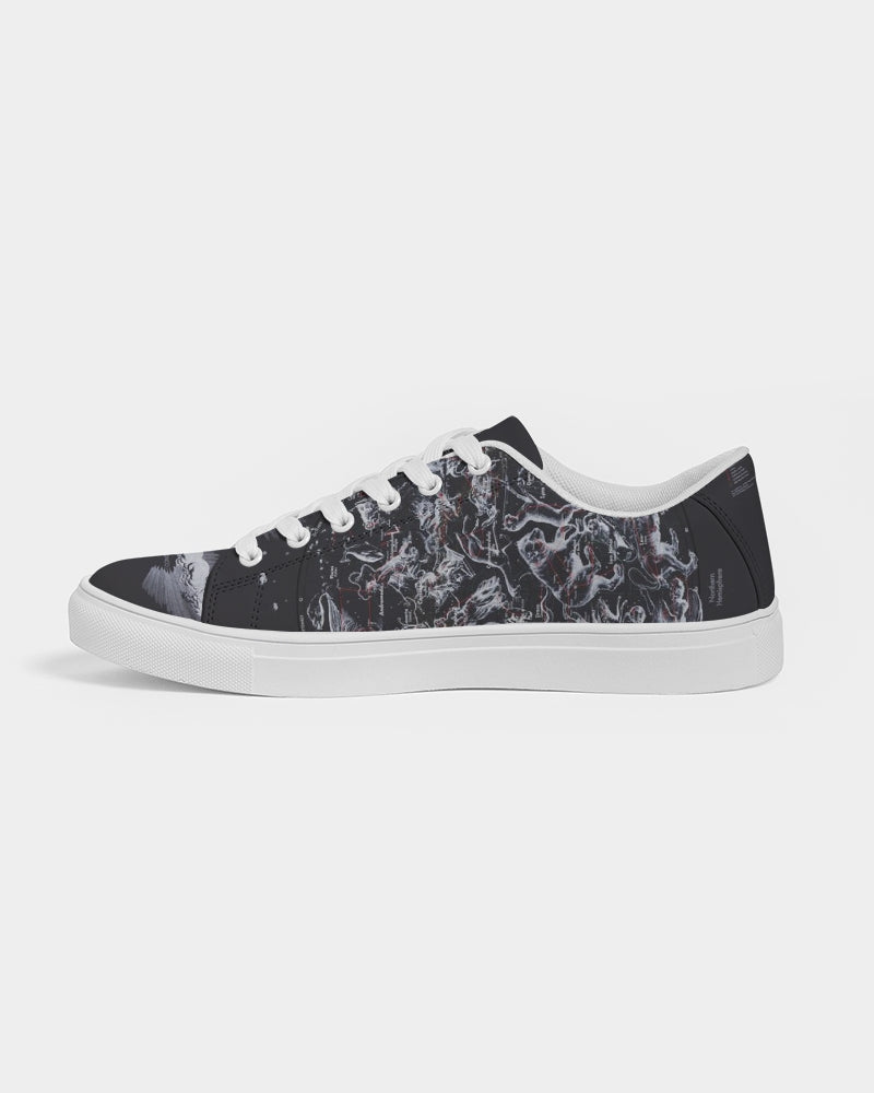 Deep Night Men's Faux-Leather Sneaker